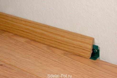 Плинтус для напольного покрытия