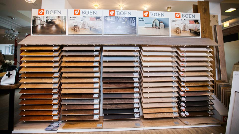 Паркет BOEN showroom