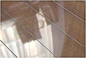 Ламинат с металлическим блеском