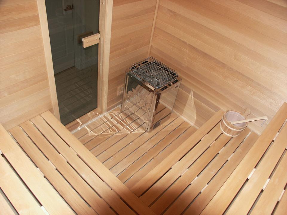 тёплый пол в бане