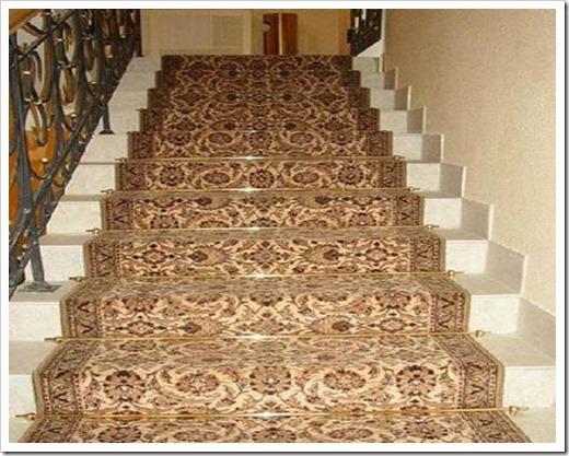 Как рассчитать ковролин на лестницу?