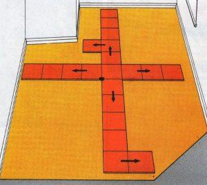 Укладка своими руками плитки на пол
