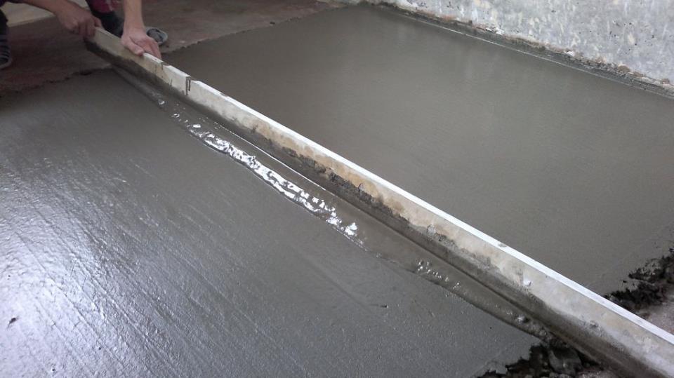 Черновая стяжка для водяного теплого пола