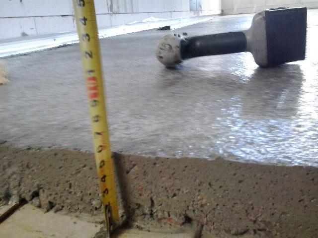 Толщина стяжки для водяного теплого пола