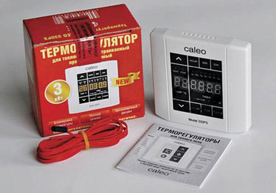 терморегулятор теплого пола caleo