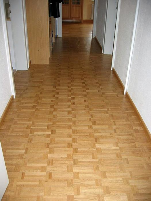 Классический деревянный паркет в интерьере 14 (525x700, 339Kb)