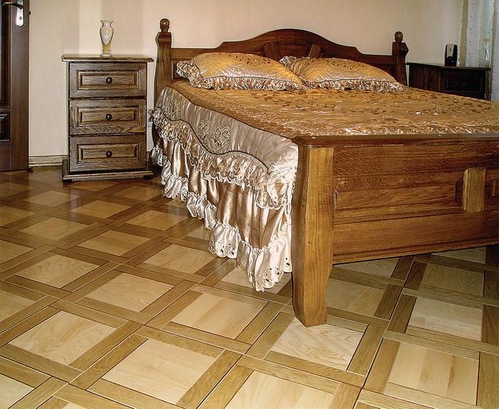 Классический деревянный паркет в интерьере 4 (700x574, 165Kb)