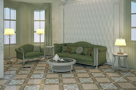 Глазурованная керамическая плитка Беллеза Богемия