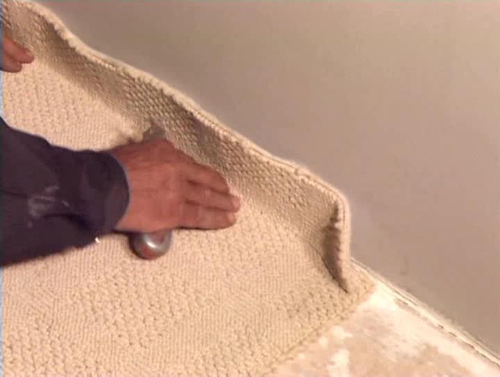 Укладка ковролина