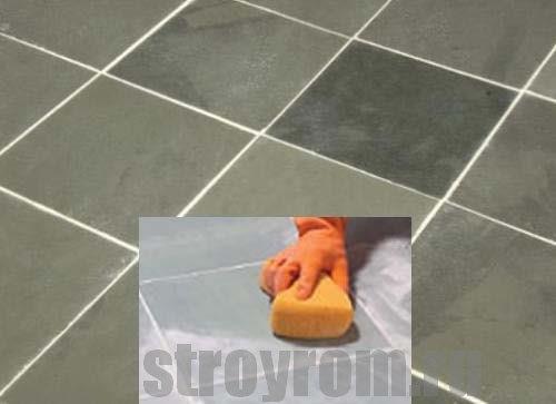 Как заменить плитку на полу