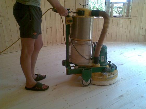 машинка для циклевки Лаглер Трио