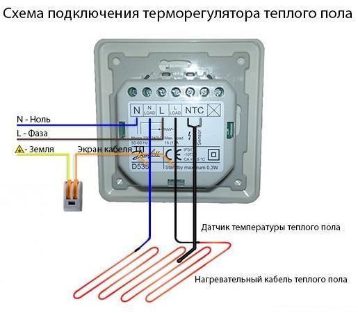 Теплый пол без терморегулятора
