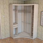 Небольшой шкаф в спальню