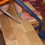 Ножовка для резки покрытия