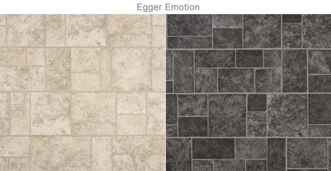 Ламинат Emotion с эффектом керамической плитки