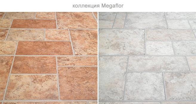 Ламинат Megaflor с эффектом керамической плитки