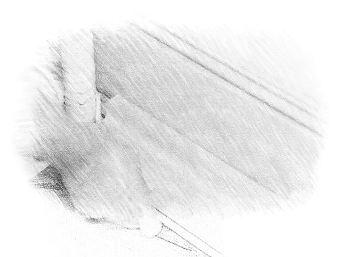 обход трубы ламинатом