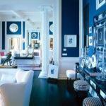 Применение синего ламината в доме
