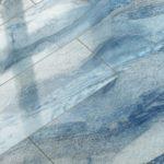 Применение синего глянцевого ламината