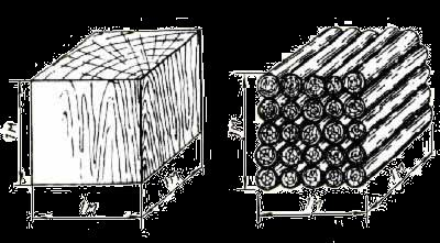 Куб пиломатериала