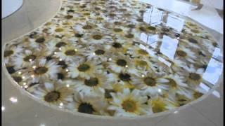 Красивые наливные 3d полы для дома