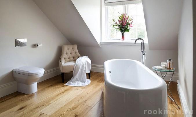 Фото водостойкого ламината для ванной комнаты