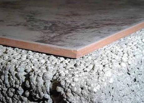 керамзит с бетоном в стяжке