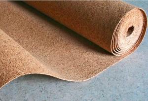 пробковая подложка под ковролин