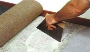 клей для подложки под ковролин