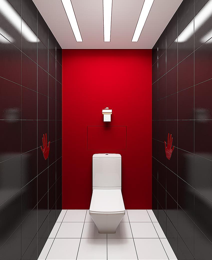 Для отделки стен малогабаритных помещений не рекомендуется использовать темный кафель, его лучше класть только на пол или потолок