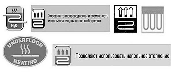 Обозначение влагостойкости на упаковке напольного покрытия. Ламинат, массив, пробка, паркет и др.