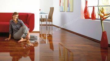 фото комнаты с уложенным ламинатом