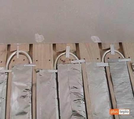 Теплый пол водяной своими руками на деревянный пол