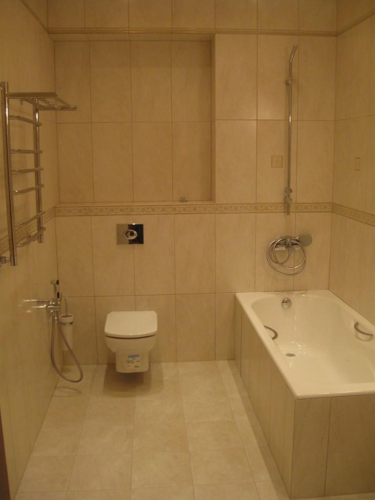 Раскладка кафеля в ванной комнате