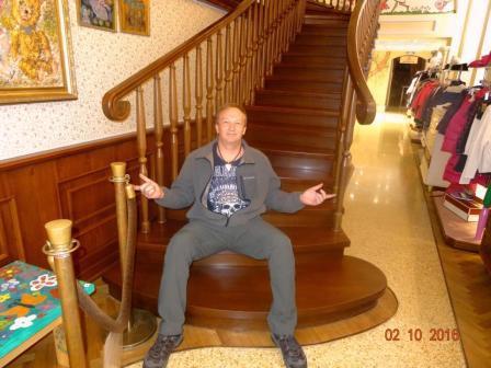 Тонировка лестницы
