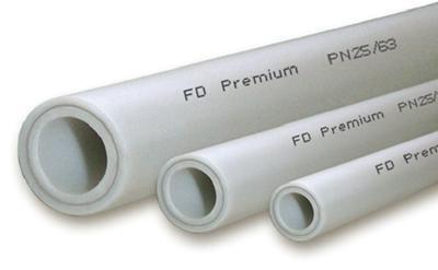 Трубы из полипропилена различного диаметра