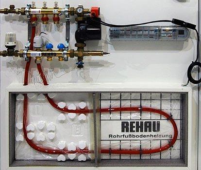 Компания Рехау выпускает как трубы, так и сопутствующие материалы