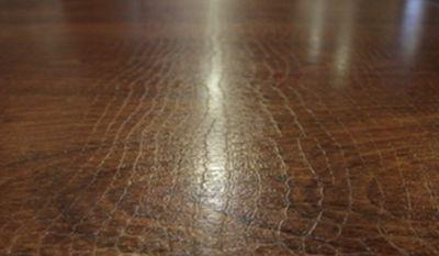 Образец ламината Ritter «кожа крокодила»