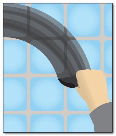 Заполнение швов между плитками