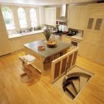 Вариант расположения на кухне