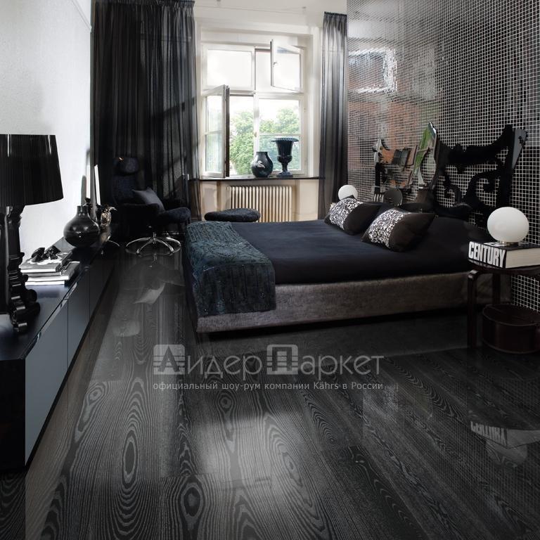 Ясень Черное серебро Черс (Kahrs Ash Black Silver)
