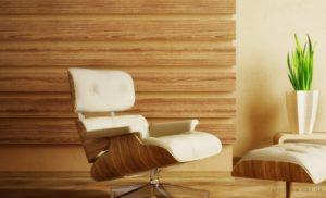 О применении ламината в отделке стен