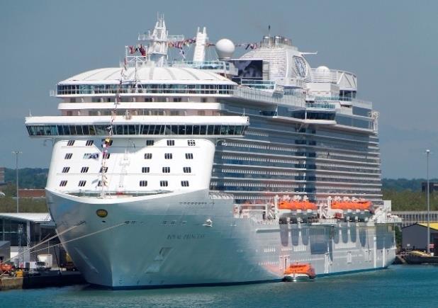 Fincantieri заложила круизный лайнер