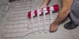 укладка теплого пола своими руками
