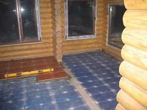 пленочный теплый пол под кафель