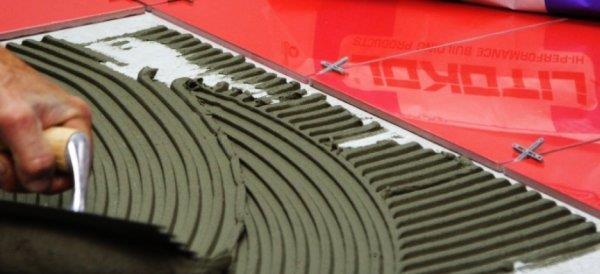 Определение толщины плитки