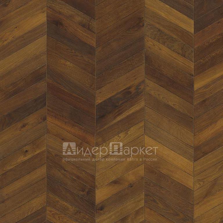 Дуб Шеврон Тёмно-коричневый (Kahrs Oak Dark Brown)