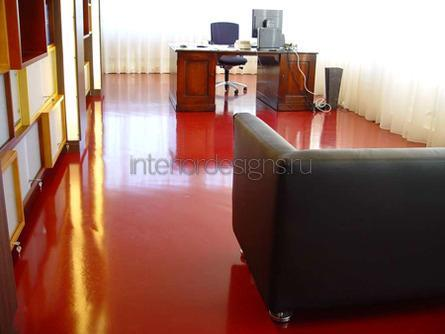 интерьер рабочего кабинета