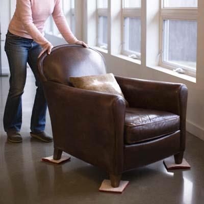 ковёр под ножки кресла