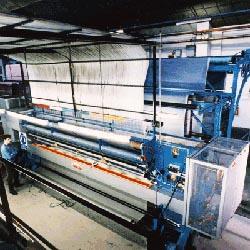 Тафтинговая машина для производства ковролина